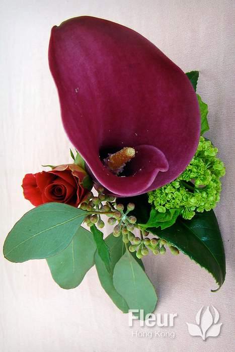 corsage calla lily