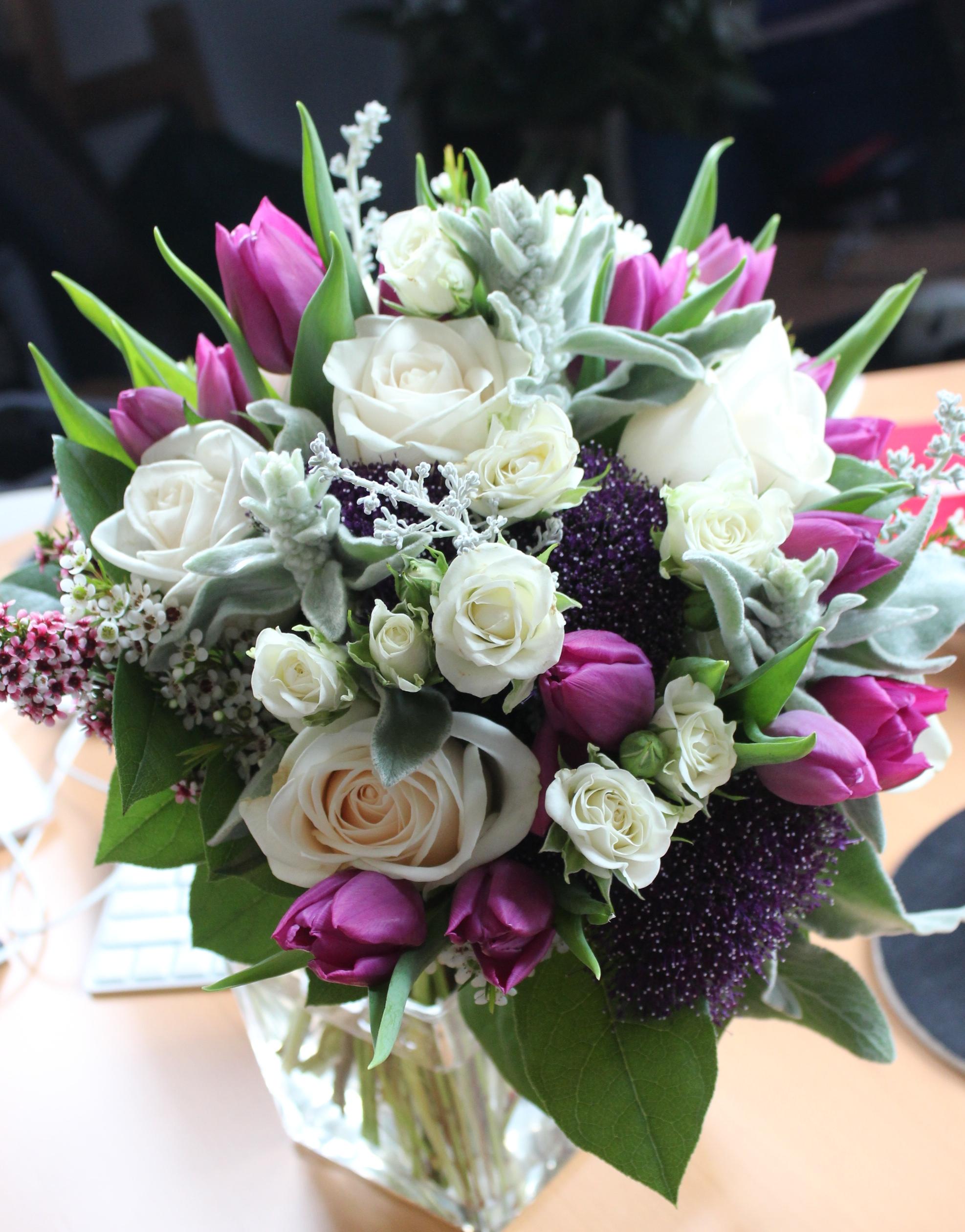 Rose Tulip Wedding